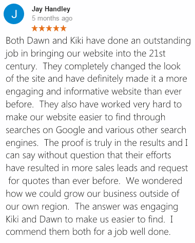 Jay Handley Google+ Review