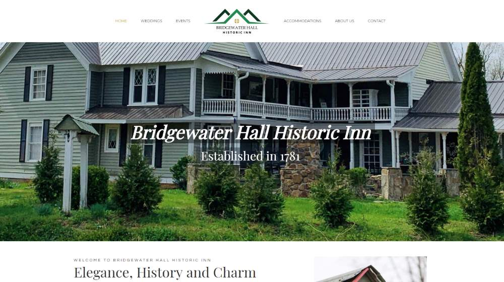 Bridgewater Hall Historic Inn
