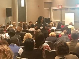 Natasha Bowman speaking at the SHRM Legal and Legislative Conference- Washington, DC