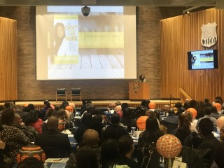 Natasha Bowman delivers keynote address at the NYPD Annual EEO Liaison Training Conference