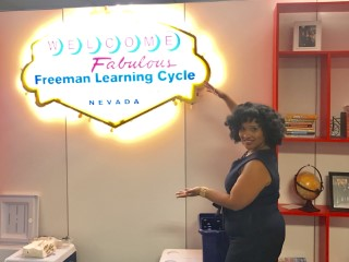 Natasha Bowman presented at Freeman Company- Las Vegas