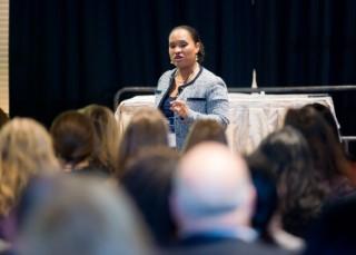 Natasha Bowman presenting at the SHRM-LI Annual Conference- Long Island, NY