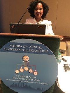 Natasha Bowman Speaking at the ASHHRA Annual Conference- Seattle, WA