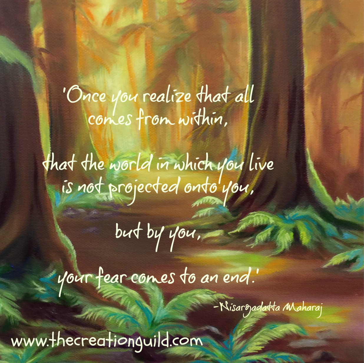 Strength from within https://thecreationguild.com/