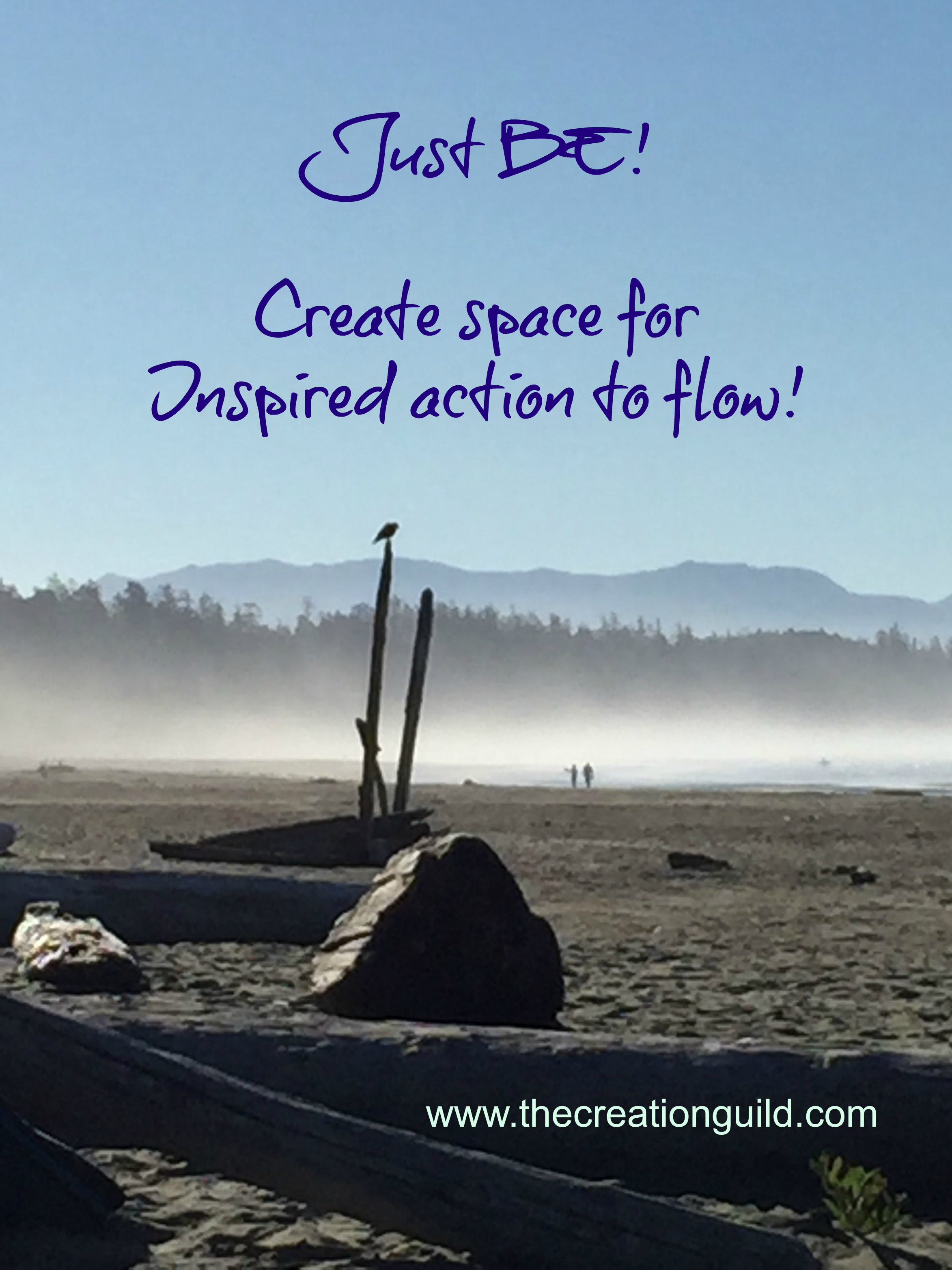 Steps for inspired creativity blog by Janice Gallant