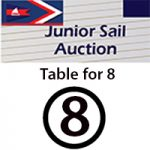 Auction Dinner Table for 8