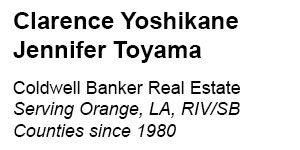 Clarence Yoshikane & Jennifer Toyama – Coldwell Banker Real Estate