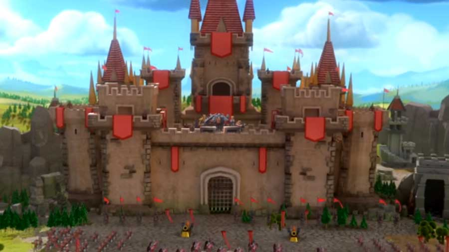 Castle Walls of Lords Mobile
