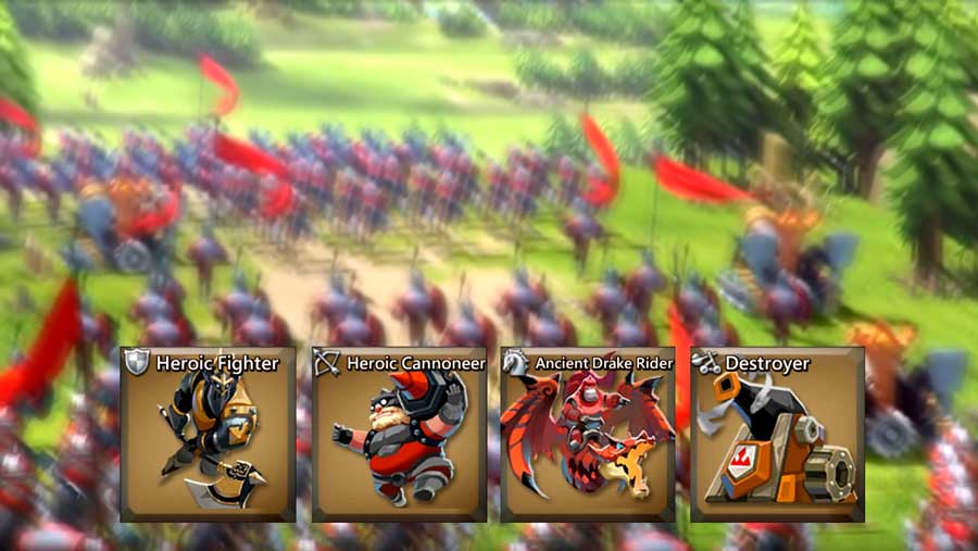 T4 Troops going to Battle