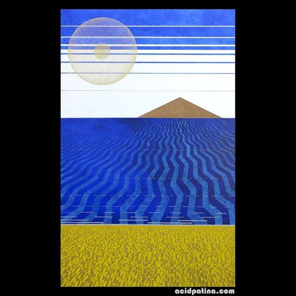 Modern art using sacred geometry