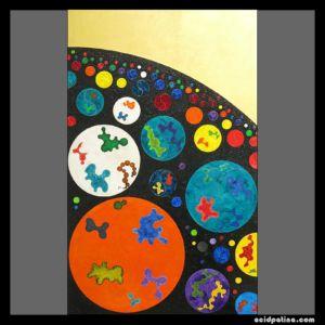 Painting similar to Miro, Kandinsky & Klee.