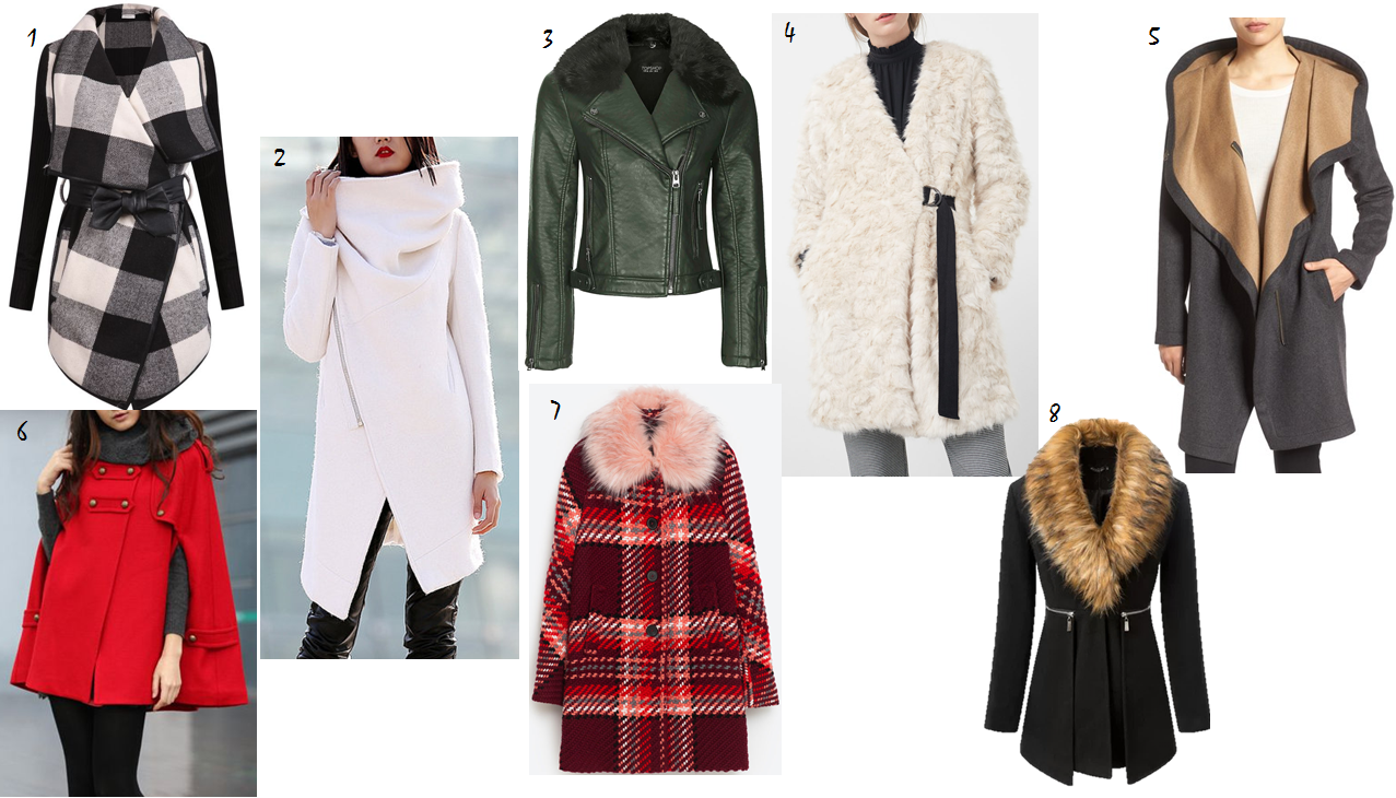 statement winter coat