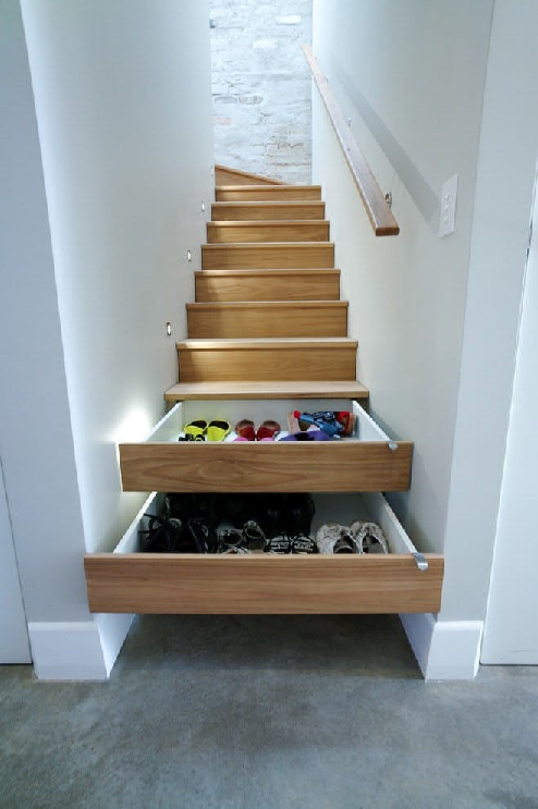 stairs-drawers