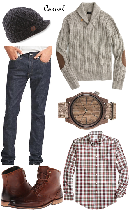 menswear holiday casual outfit