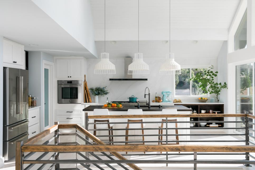 kitchen modern coastal