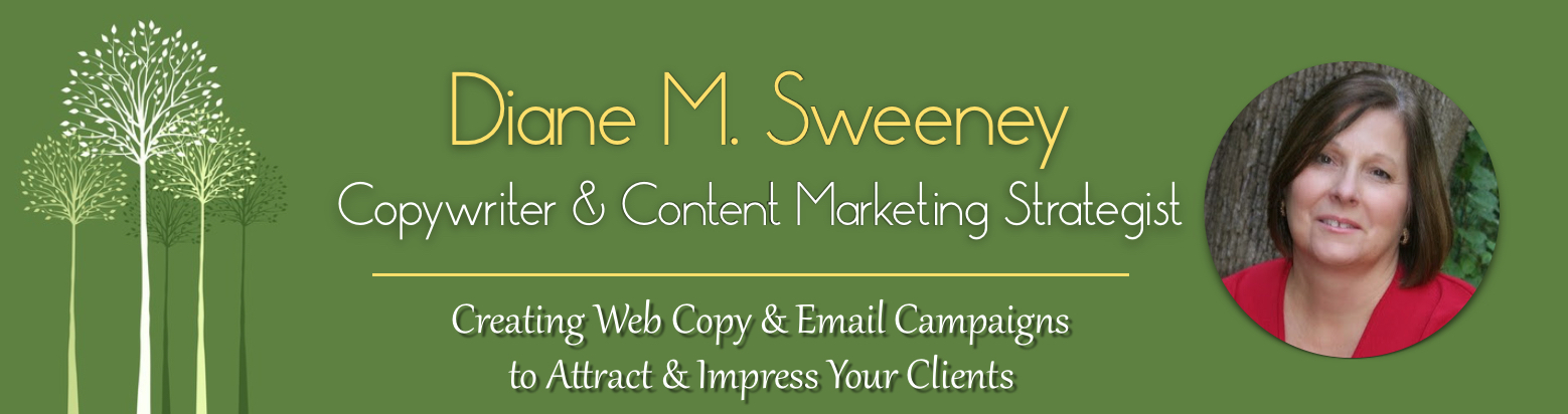 Diane M Sweeney Content and Marketing Strategist