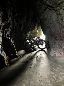 In the caves near Face Rock, Bandon