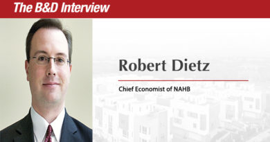 The B&D Interview: Robert Dietz, Chief Economist of the National Association of Home Builders