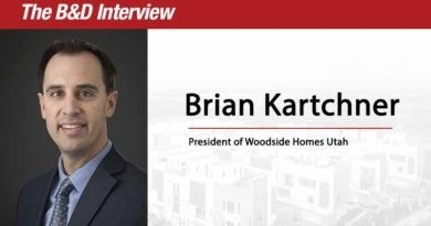 The B&D Interview: Brian Kartchner, President of Woodside Homes Utah Division