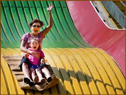Iowa State Fair - Big Slide