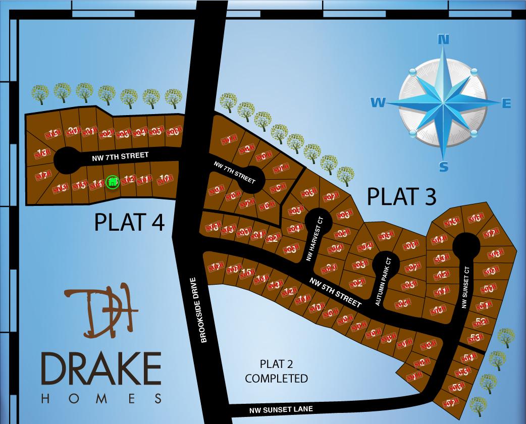 Autumn Park - Plat Map