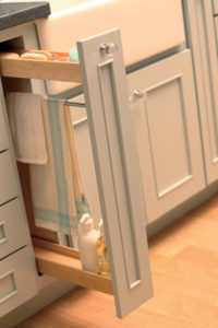Today's kitchens are full of function! Check out our Storage Solutions gallery for the latest accessories in pantries, inserts, roll-outs, spice racks, dividers, and so much more.