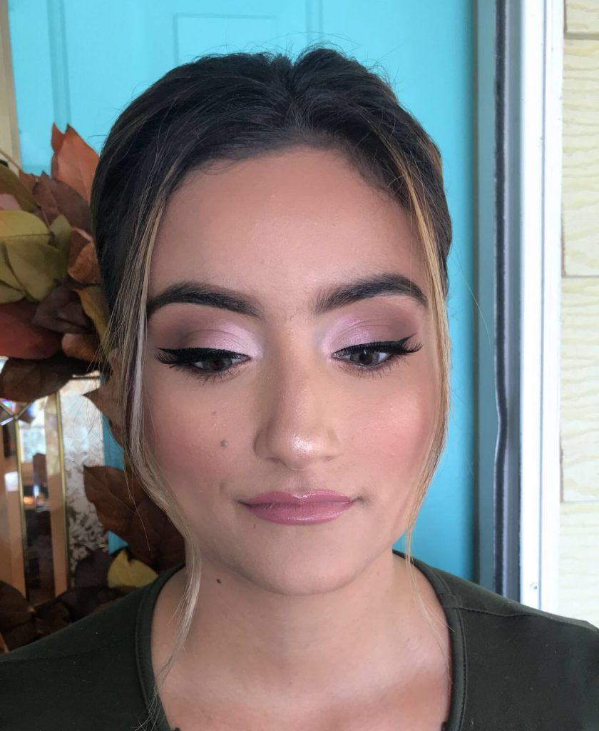 Glam Makeup Look