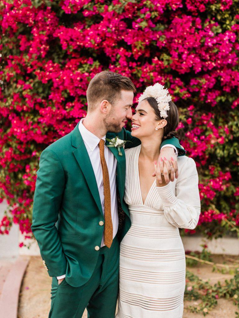 Elwynn and Cass / The Living Desert Palm Desert Rancho Mirage Wedding