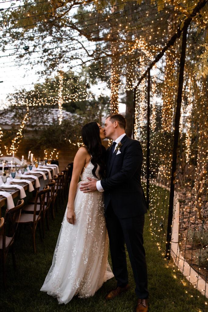 Elwynn + Cass Intimate Wedding Red Rock Resort + Casino Las Vegas