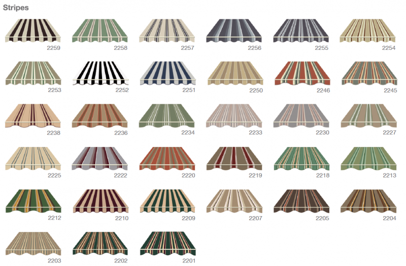 Defab Somerton Canvas Stripes Colour Options