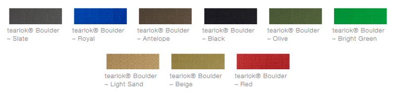 defab tearlok boulder colour options