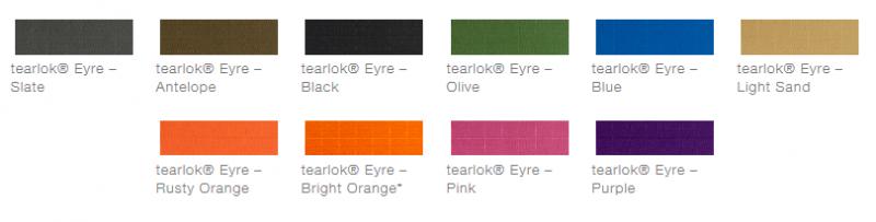 defab tearlok eyre colour options