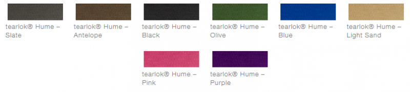 defab tearlok hume colour options