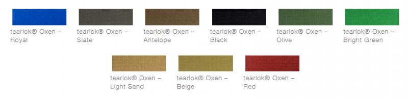 defab tearlok oxen colour options
