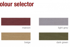 defab supaproof 6 colour options
