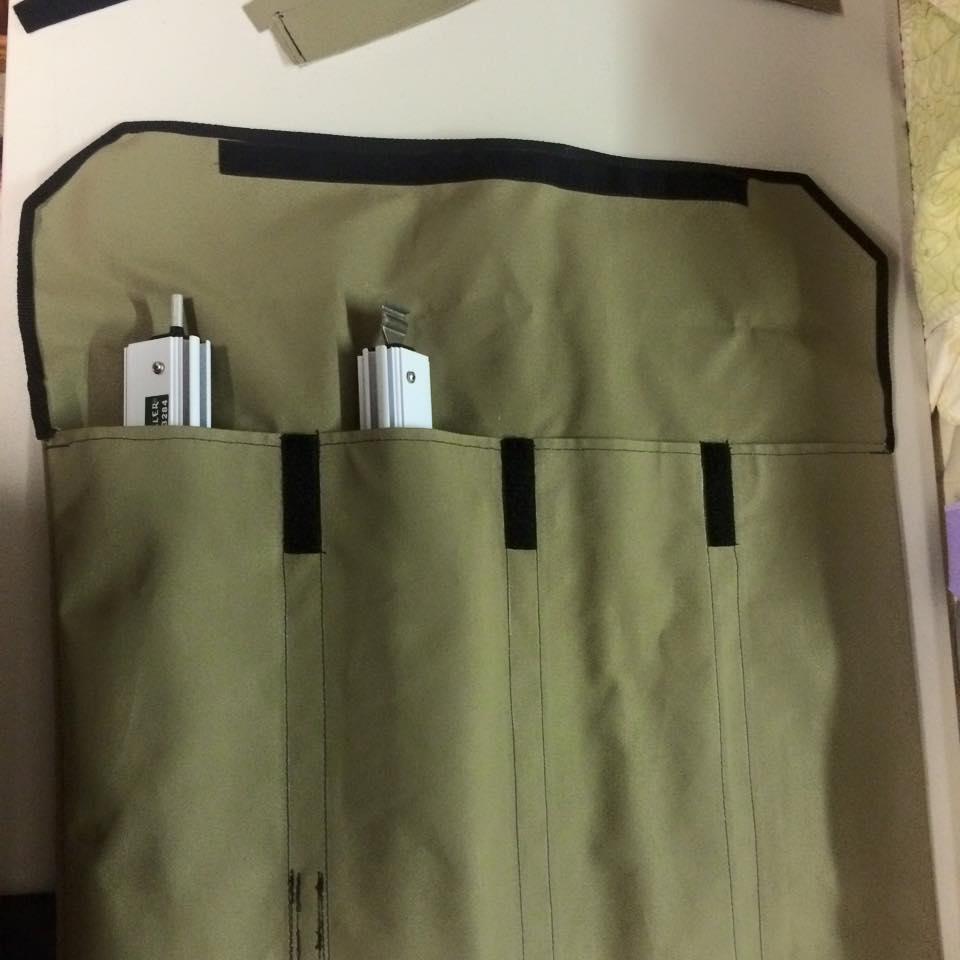 Aussie Traveller Anti Flap Bag Open Top