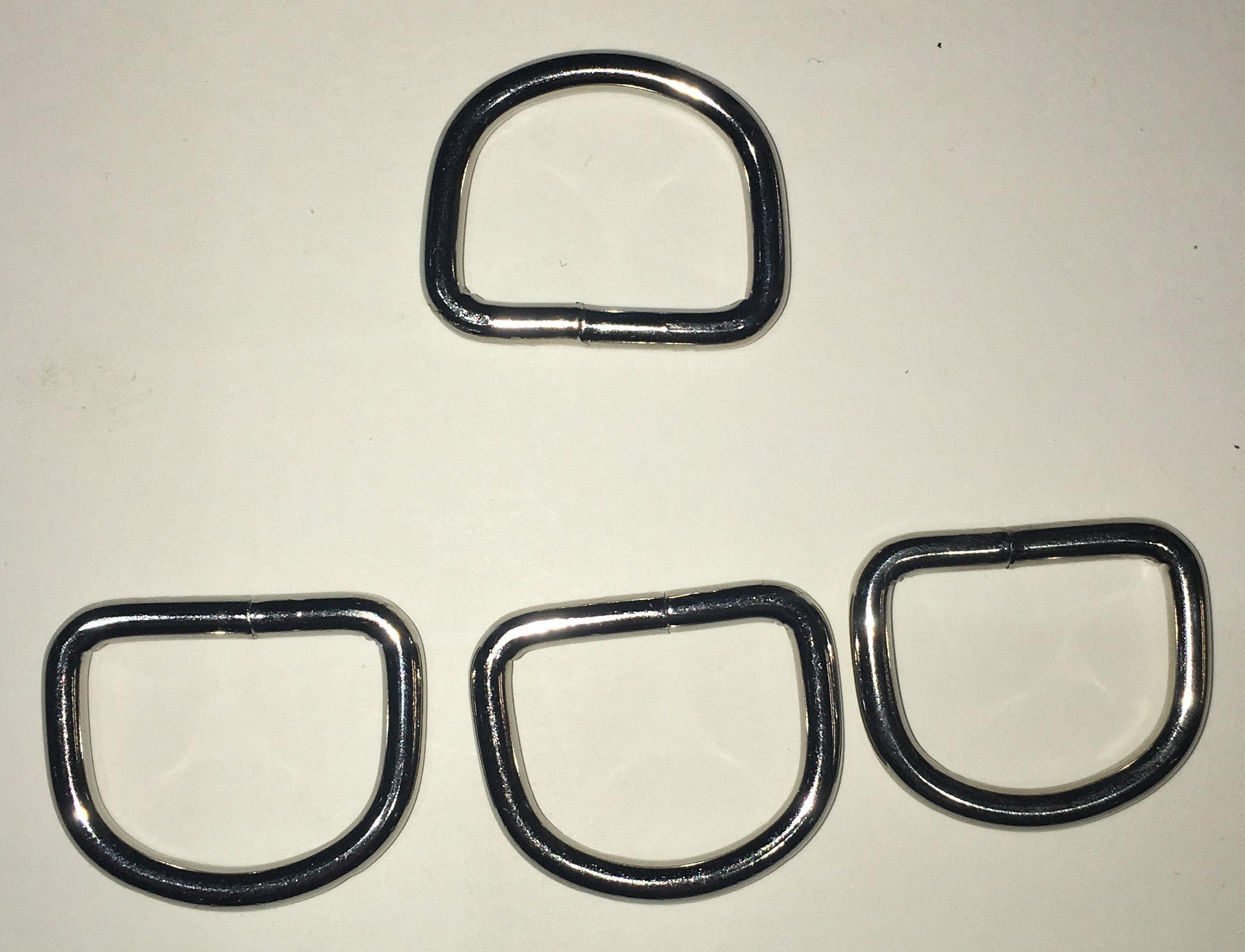 25mm Welded D Rings
