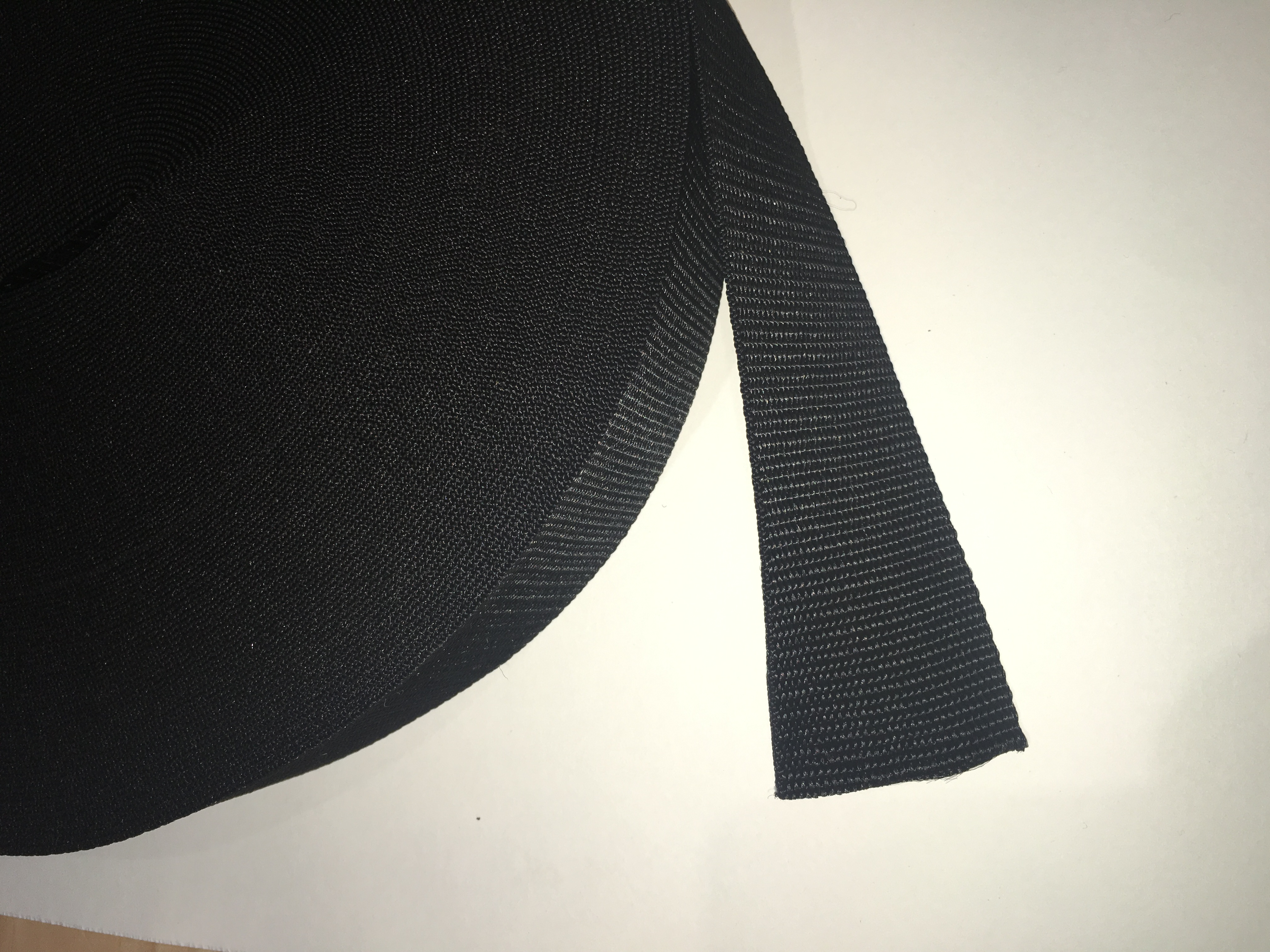 50mm Webbing Black