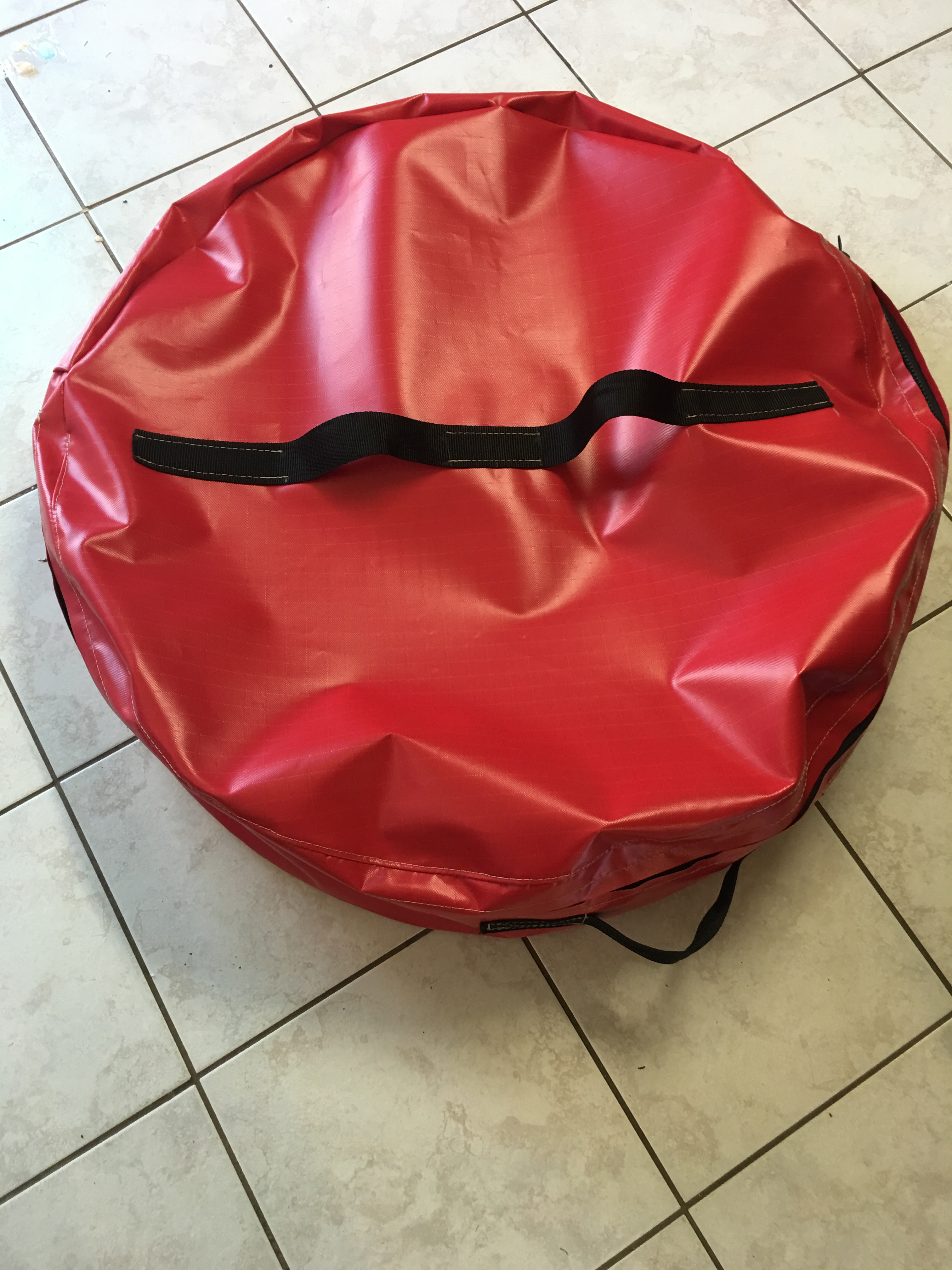 Crab Pot Bag Red Top