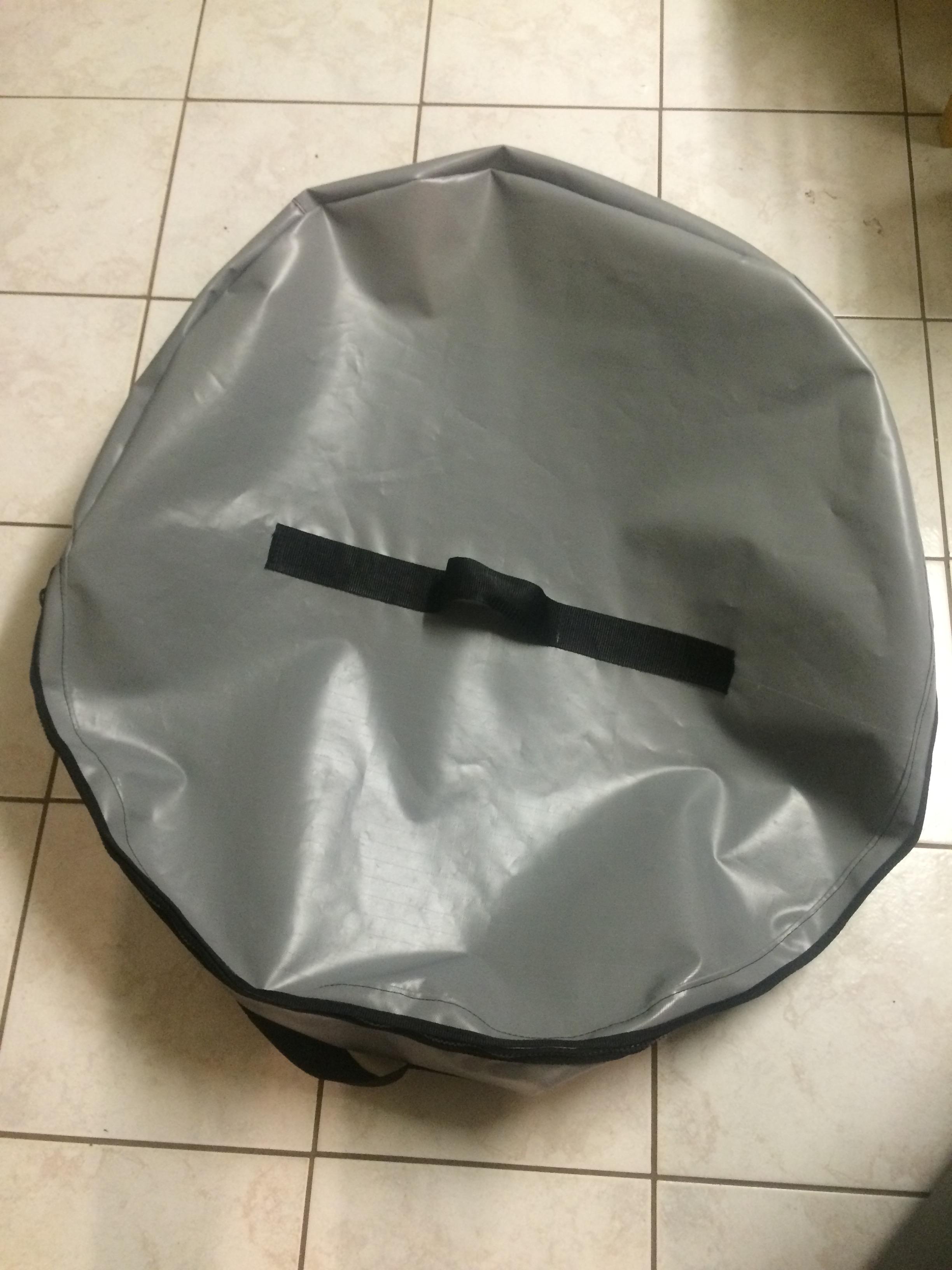 Crab Pot Bag Grey Top