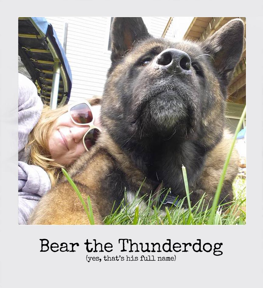 Amy Coppersmith and Thunderdog