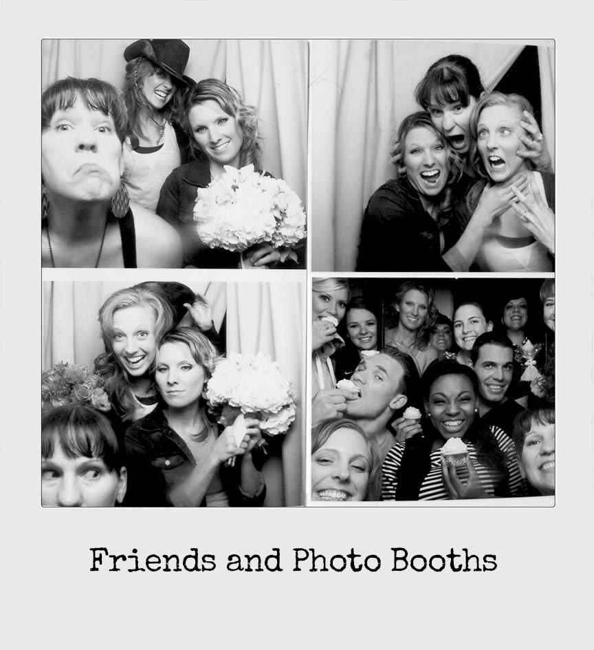 Wedding Photo Booths with Friends
