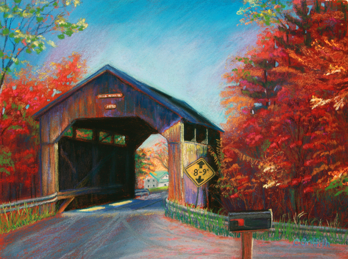 Cindy Griffith, Pine Brook Bridge, Waitsfield