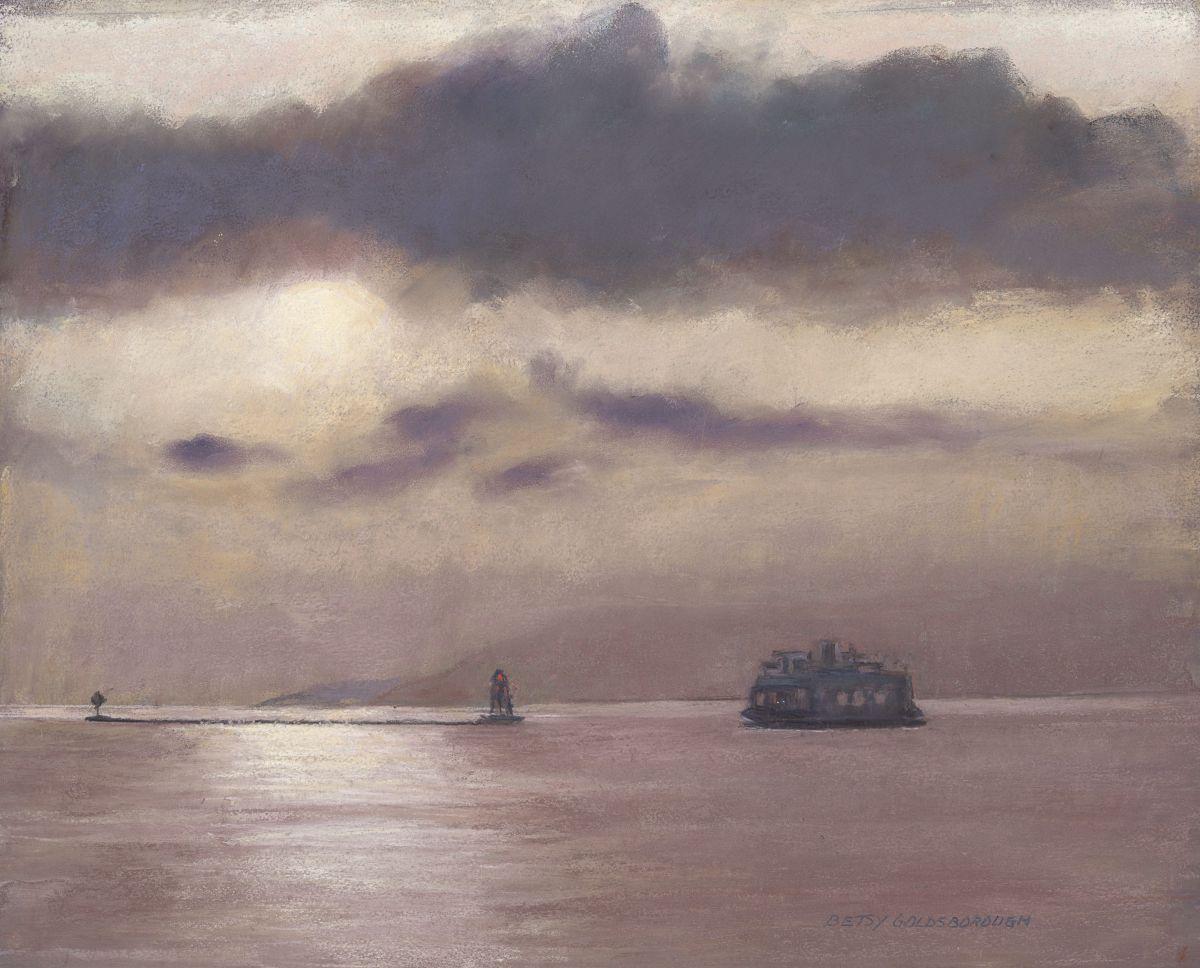 Betsy Goldsborough, Champlain Ferry