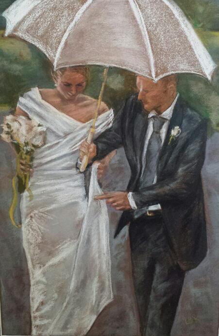 Louise Kenney, Wedding Day