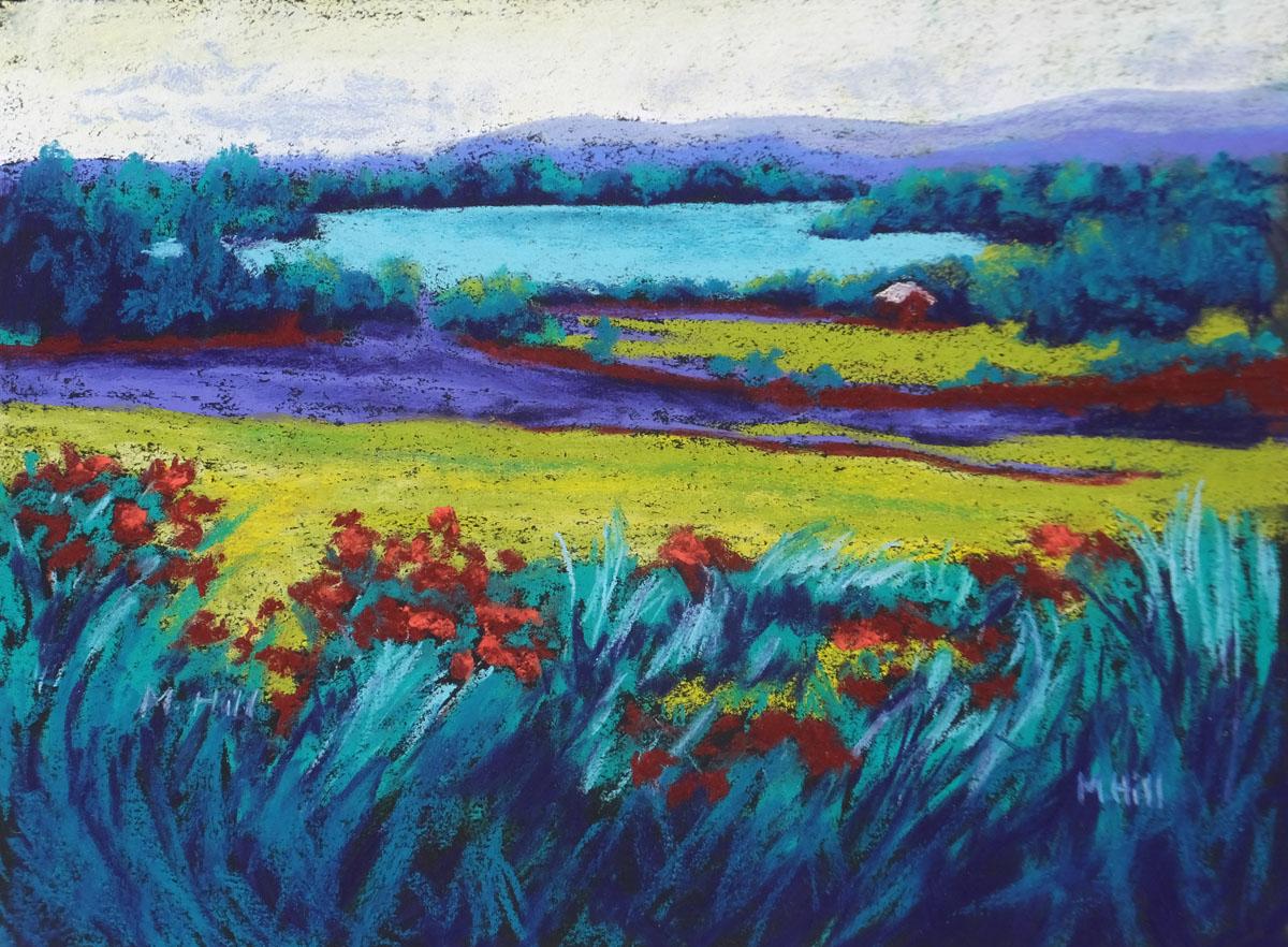 Marcia Hill, Yin-Yang Landscape