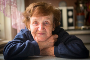 Older Adult Woman smiling