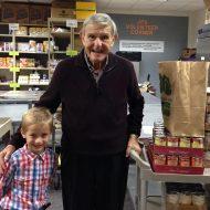 Stanley Katz & Daniel M. – Food Pantry Volunteers