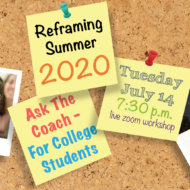 College Students: Reframe Summer 2020