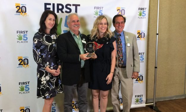 Placer Community Foundation Receives High Five Luminary Award